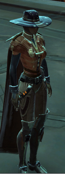 Decked out smuggler